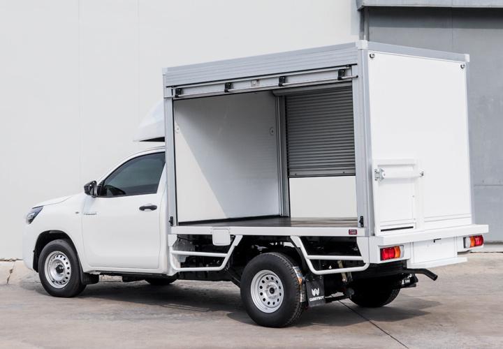 Dry Freight (Toyota Hilux Revo) — Rolling Shutter Door